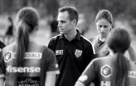 Words of wisdom from departing head coach Edoardo Rosso Photo Adam Butler