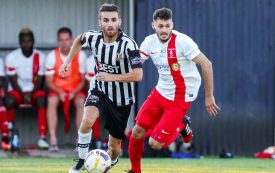 2016 NYL Player of the Year Dylan Smith in action for Adelaide City - an exciting acqusition Photo Adam Butler @80kms